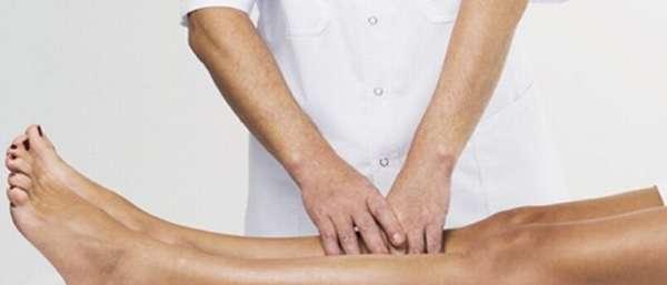 Массаж при лечении тромбофлебита