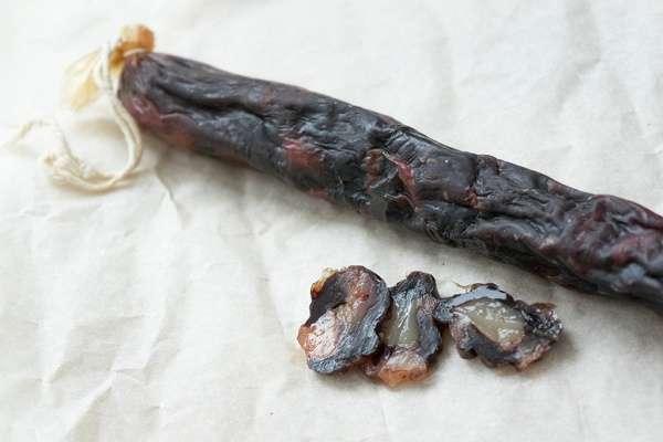 Колбаса из конины: польза и вред, рецепт