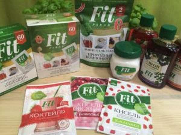 Заменитель сахара Фит Парад: польза или вред, побочные эффекты