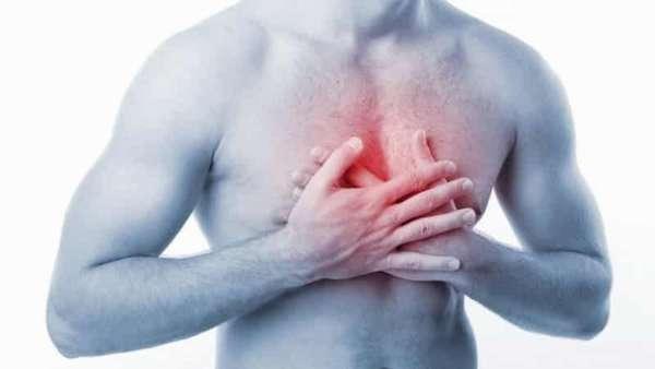 Что означает боль при надавливании на грудную клетку посередине