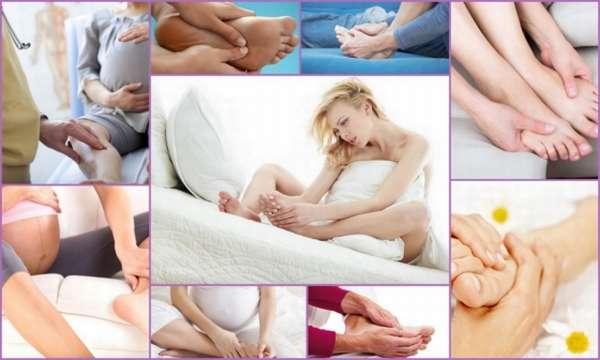 Немеют ноги при беременности причины профилактика