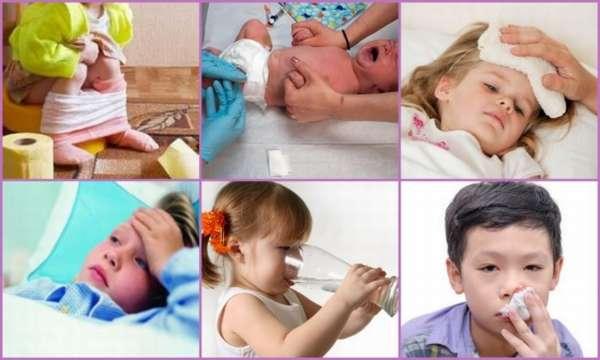 Ребенка перед сном судорога