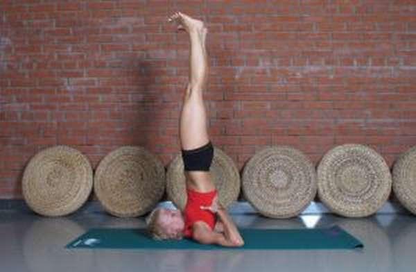 Йога от варикоза на ногах