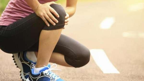 Горит и болит коленный сустав