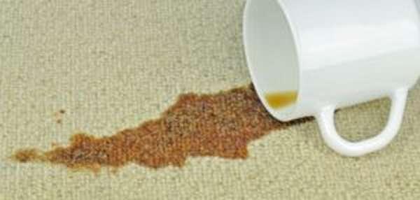 Чем отстирать чайные пятна