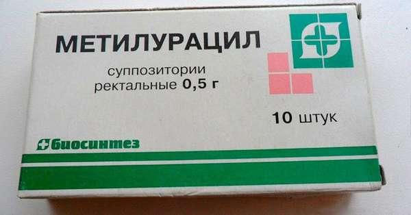 Метилурацил для лечения простатита