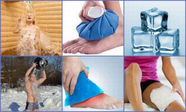 Криотерапия для коленных суставов
