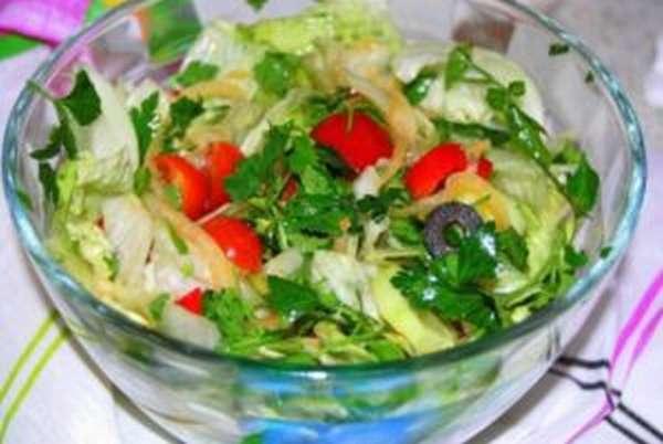 Чем полезен салат Айсберг