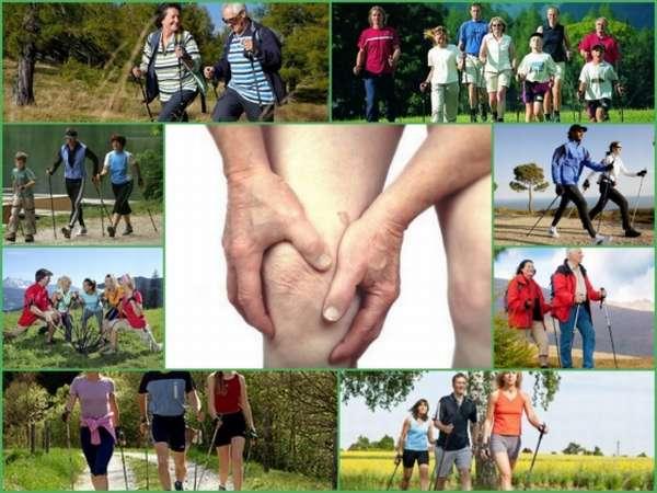 Можно ли заниматься скандинавской ходьбой при артрозе коленного и тазобедренного суставов?