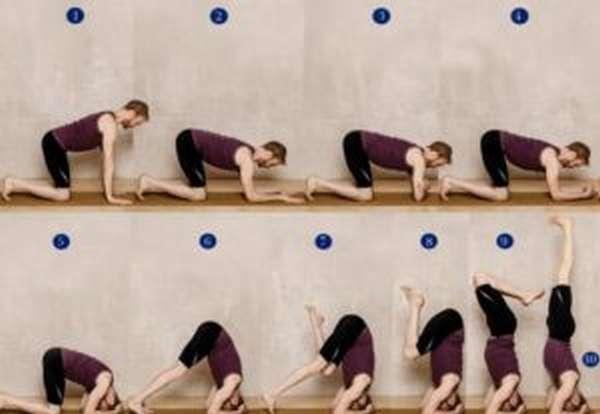 Чем полезна стойка на голове и как научиться ее делать