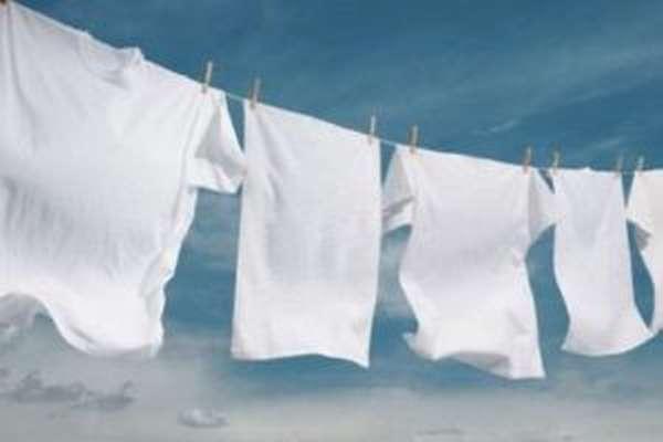 Как отстирать чернила с белой одежды